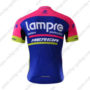 2017 Team Lampre MERIDA Biking Jersey Maillot Shirt Blue Pink