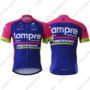 2017 Team Lampre MERIDA Riding Jersey Maillot Shirt Blue Pink