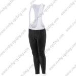 2017 Team Liv Womens Ladies Cycle Long Bib Pants Tights Black