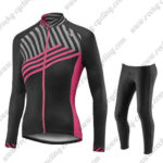 2017 Team Liv Womens Ladies Riding Long Suit Black Pink