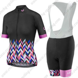 2017 Team Liv Womens Lady Riding Bib Kit Black Colorful