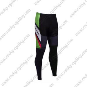 2017 Team MERIDA Cycle Pants Tights Black Green Pink