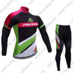 2017 Team MERIDA Cycle Suit Black Green Pink2017 Team MERIDA Cycle Suit Black Green Pink