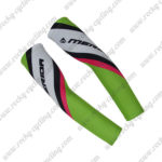 2017 Team MERIDA Cycling Arm Warmers Sleeve Green Pink
