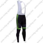 2017 Team MERIDA Cycling Long Bib Pants Tights Black Green