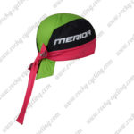 2017 Team MERIDA Riding Bandana Head Scarf Green Pink