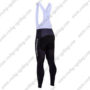 2017 Team MERIDA Riding Long Bib Pants Tights Black White Green