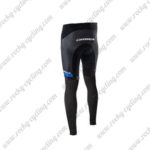 2017 Team ORBEA Riding Long Pants Tights Black Blue White