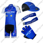 2017 Team QUICK STEP Cycling Combo Set Blue 5-pieces