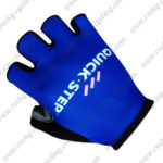 2017 Team QUICK STEP Cycling Gloves Mitts Blue