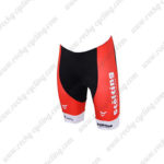 2017 Team Stolting SERVICE GROUP Denmark Bike Shorts Bottoms Red