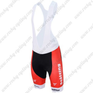2017 Team Stolting SERVICE GROUP Denmark Cycling Bib Shorts Bottoms Red