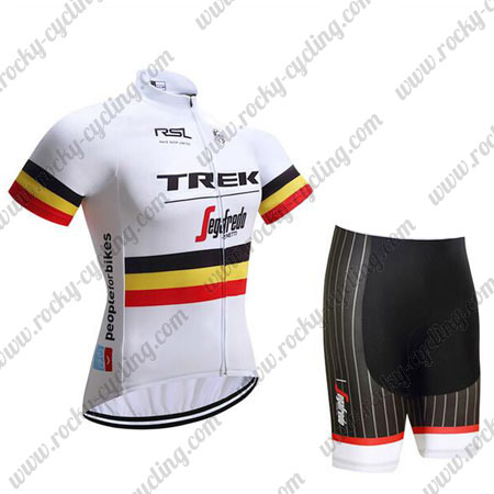 2017 Team TREK Segafredo Cycle Wear Riding Jersey and Padded Shorts ... 6c50b227e