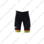 2017 Team TREK Segafredo Bike Shorts Bottoms Yellow Black