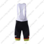 2017 Team TREK Segafredo Cycle Bib Shorts Bottoms Yellow Black
