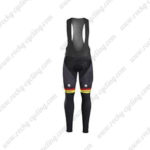 2017 Team TREK Segafredo Cycling Long Bib Pants Tights Yellow Black