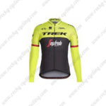 2017 Team TREK Segafredo Cycling Long Jersey Maillot Yellow Black