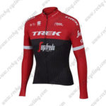 2017 Team TREK Segagredo Cycling Long Suit Red Black