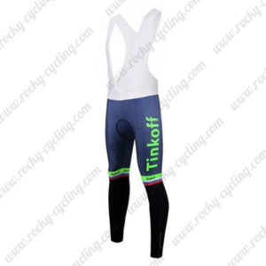 2017 Team Tinkoff Cycle Bib Pants Tights Green