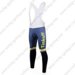 2017 Team Tinkoff Cycle Bib Pants Tights Yellow