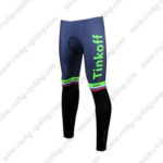 2017 Team Tinkoff Cycle Pants Tights Green