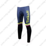 2017 Team Tinkoff Cycle Pants Tights Yellow