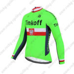 2017 Team Tinkoff Poland Cycle Jersey Maillot Shirt Green