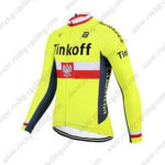 2017 Team Tinkoff Poland Cycle Jersey Maillot Shirt Yellow