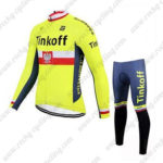 2017 Team Tinkoff Poland Cycle Suit Yellow