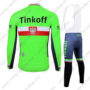 2017 Team Tinkoff Poland Riding Bib Suit Green
