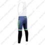 2017 Team Tinkoff Riding Bib Pants Tights Green