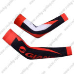 2012 Team GIANT Cycling Arm Warmers Sleeves Black White Red