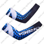 2014 Team ORBEA Cycling Arm Warmers Blue