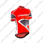 2015 ORBEA Bicycle Jersey Maillot Shirt Red