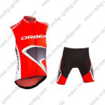 2015 ORBEA Bicycle Sleeveless Vest Kit Red