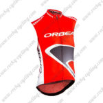 2015 ORBEA Bicycle Sleeveless Vest Red