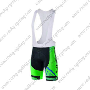 2015 ORBEA Cycle Bib Shorts Bottoms Black Green