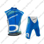 2015 ORBEA Cycling Sleeveless Vest Kit Blue