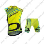 2015 ORBEA Cycling Sleeveless Vest Kit Yellow