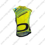 2015 ORBEA Cycling Sleeveless Vest Yellow