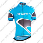 2015 ORBEA Pro Bicycle Jersey Maillot Shirt Blue