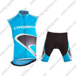 2015 ORBEA Pro Cycle Sleeveless Vest Kit Blue