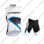 2015 ORBEA Pro Cycle Sleeveless Vest Kit White