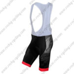 2015 Team BIANCHI Cycle Bib Shorts Bottoms Black Red