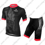 2015 Team BIANCHI Cycle Kit Black Red