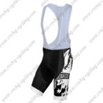 2015 Team BIANCHI Cycling Bib Shorts Bottoms Black