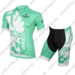 2015 Team BIANCHI Cycling Kit Green