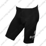 2015 Team BIANCHI Pro Cycle Shorts Bottoms White Black