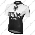 2015 Team BIANCHI Pro Cycling Jersey Maillot Shirt White Black