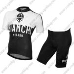 2015 Team BIANCHI Pro Riding Kit White Black